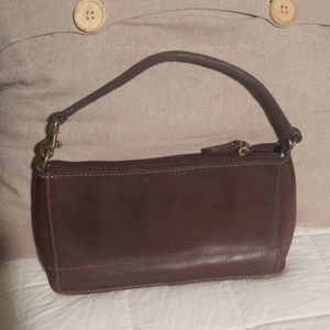 Coach small leather vintage bag
